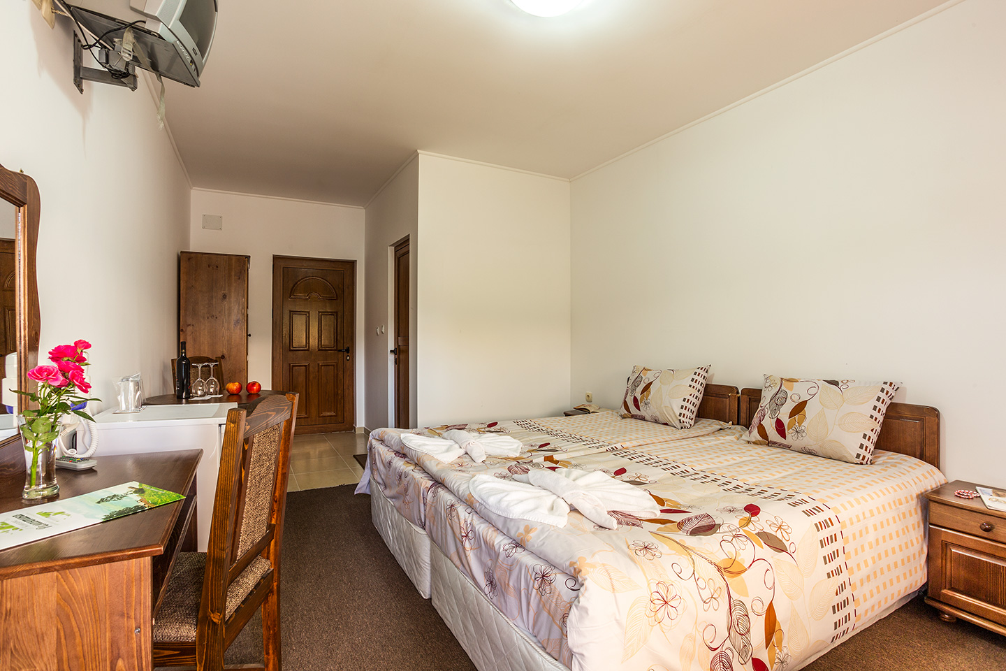 Double rooms №702 and №703 at separate hotel building
